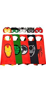 Superhero Costumes for Boys 5PCS