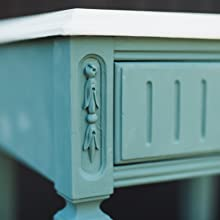 furniture paint green chalk paint home decor side table