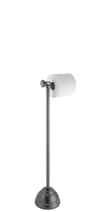 York Metal Tissue Stand toilet paper dispenser floor stand
