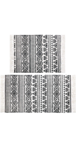 Pauwer Cotton Area Rug Set 2 Piece