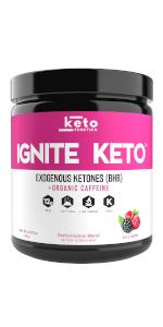 keto energy supplement exogenous ketones powder drinks perfect ketosis pure bhb salts drink mix