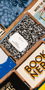Out of Print Literary Themed Pouches