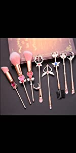 Sailor Moon Makeup Brushes
