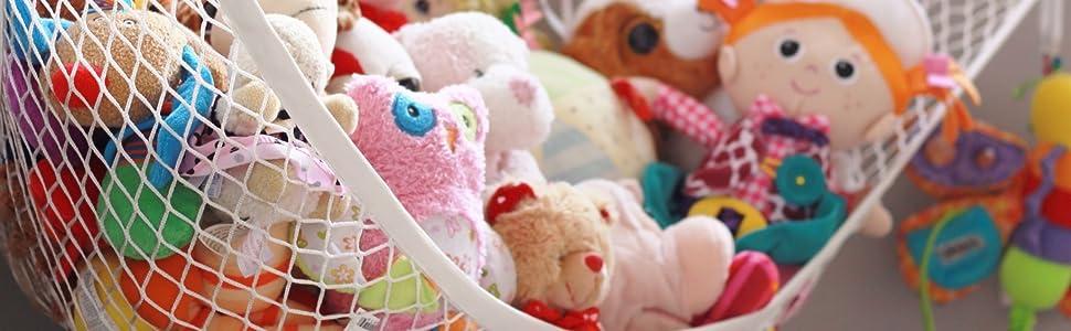 toy storage hammock