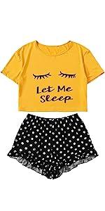 let me sleep PJ set