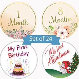 baby milestone stickers boy milestone stickers baby chalkboard baby stickers girl baby monthly