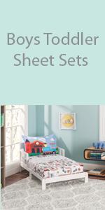 boys toddler sheet set