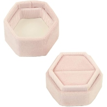 Jewelry Box, Wedding Ring Box, Engagement Ring Box,Hexagon Ring Box, Bridal Ring Box, Hexagon Box