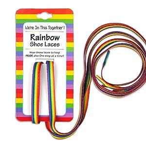 LGBTQ Shoe Laces for Pride Parades