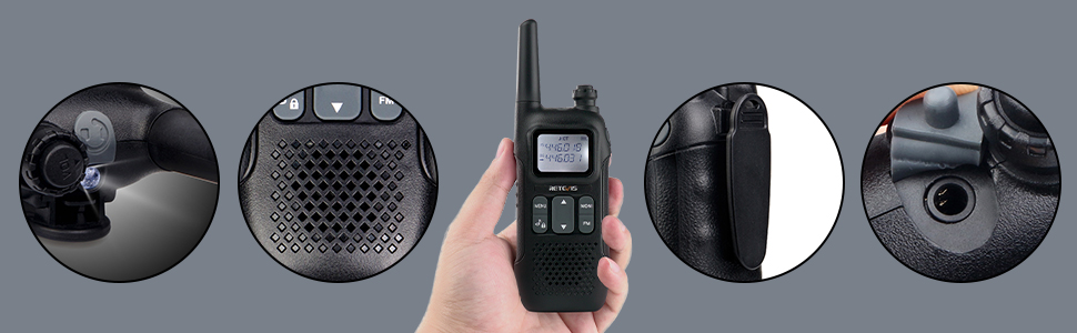 retevie walkie talkies long range