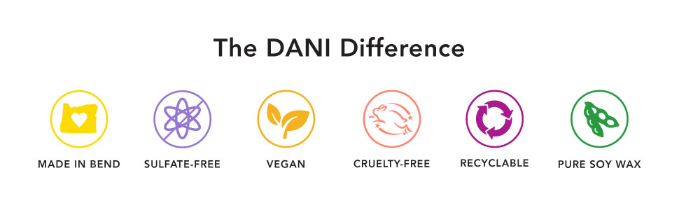 Sulfate Free, Vegan, Cruelty-Free, Recyclable, Shea Butter, Lotion, DANI, US Manufactured