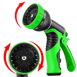 Expandable Garden Hose 50ft Expanding Flexable Water Hose Retractable Lightweight Gardening Watering