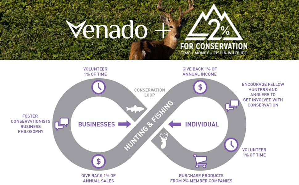 Conservation whitetial venado 2% deer