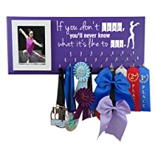 medal display picture hanger rack gymnastics sports gymnast gifts