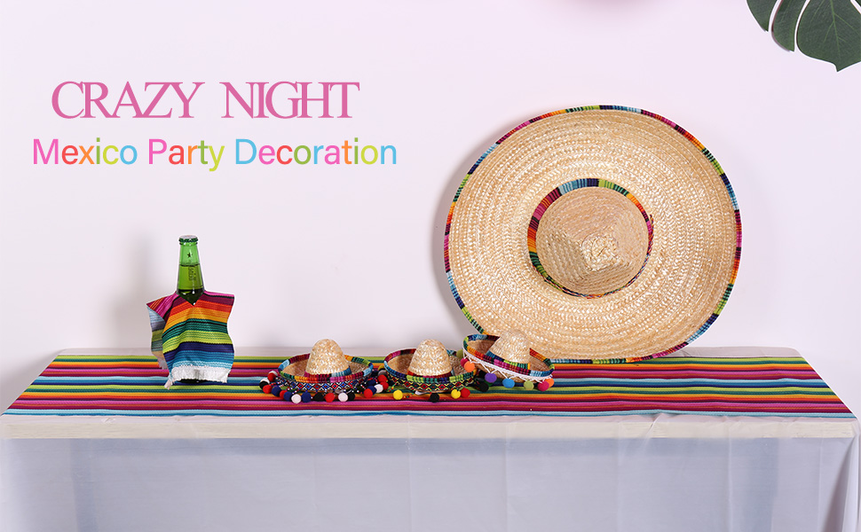 mexican party decoration