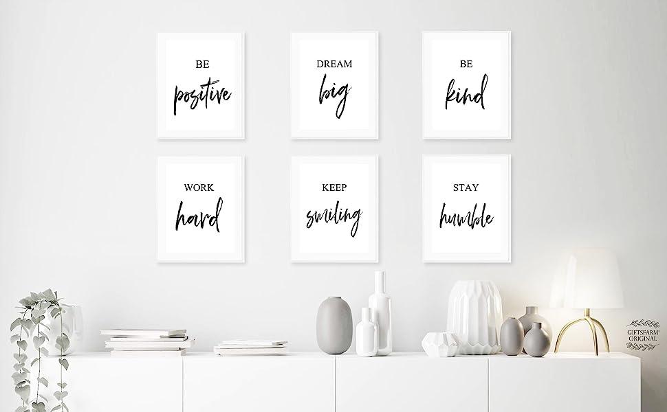 motivational wall art