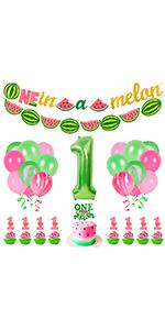 Watermelon Party Decorations