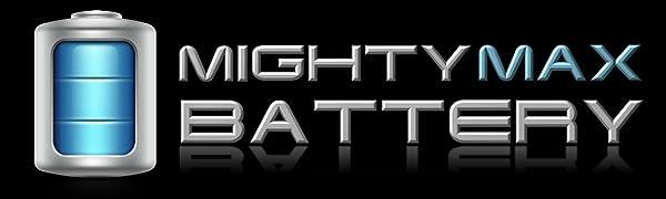 Mighty Max Battery Logo