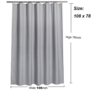 Extra Wide Shower Curtain 108