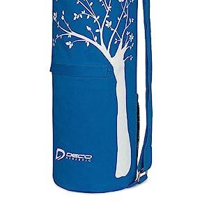 yoga bag front pocket, yoga mat bag front pocket