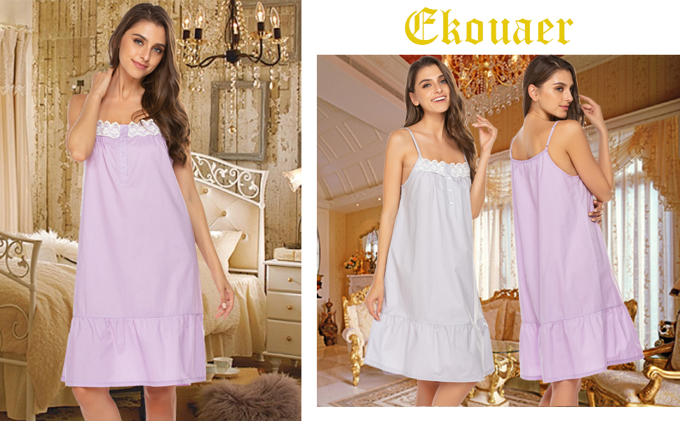 Beautiful and elegant ladies' nightwear