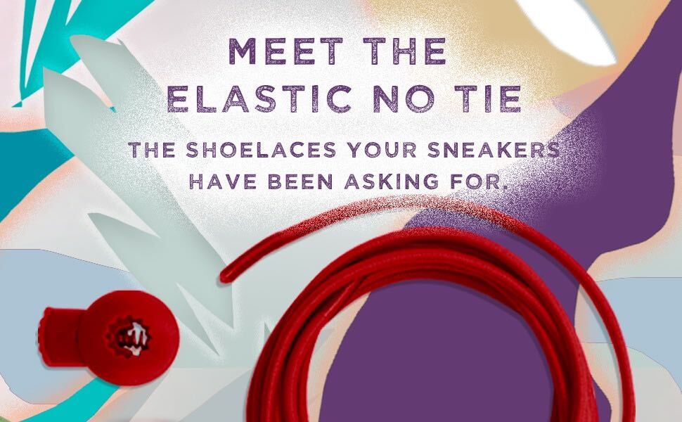 No Tie Shoelaces for Adults and Kids