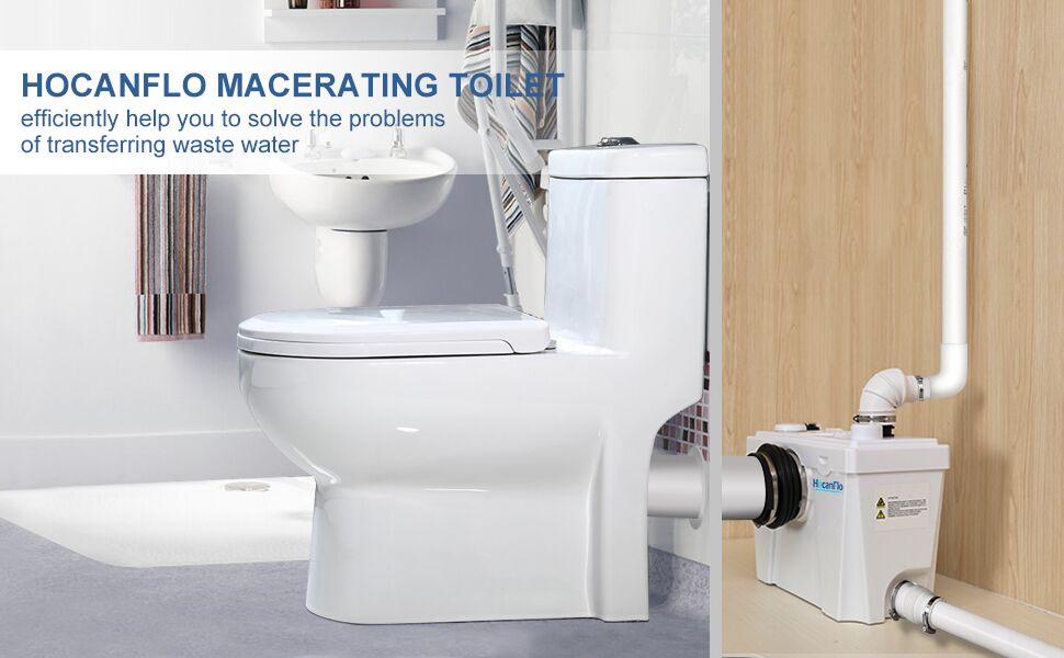 700watt macerating toilet
