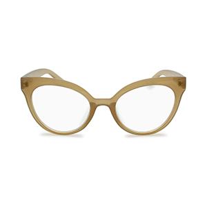 oversized cat eye reading glasses for women clear beige