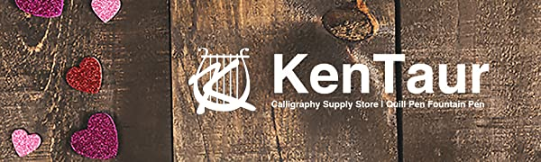Kentaur calligraphy supply store quill dip fountain pen ink cartridge multi color multifunction