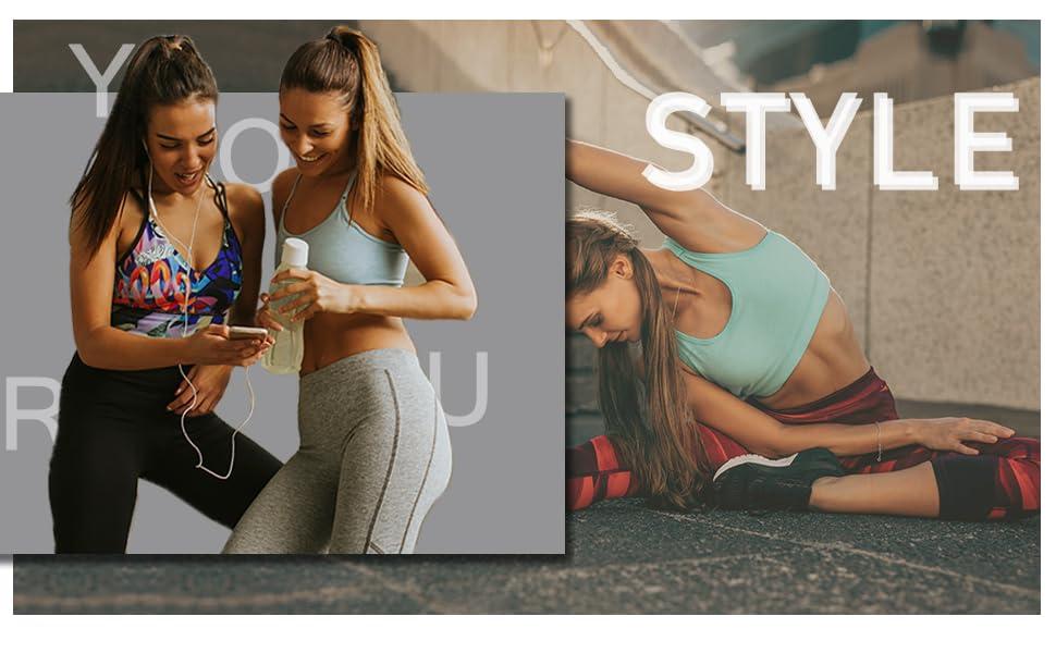 leggings capris running sports gym butter soft exercise sports multipackcotton yoga pants for women