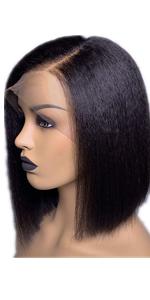 yaki straight human hair wig