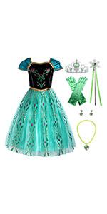 princess Anna costume