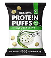 Sour Cream and Onion Protein Puffs