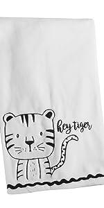Allistar Blanket levtex baby black and white
