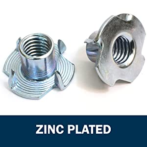 zinc plated t nuts