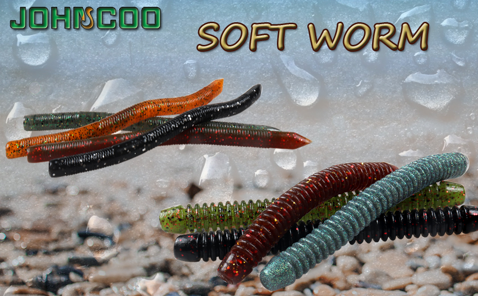 soft bait worms