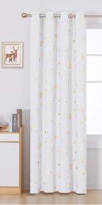 Deconovo blackout curtains grommet curtains