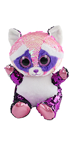 sequin raccoon