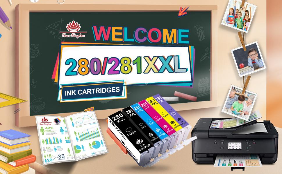 pgi-280 / cli-281 refillable ink kit