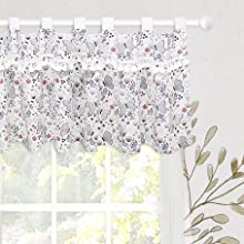 pink valance for girl