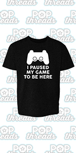 Gamer Gifts Video Game Merchandise Gaming Funny Youth Kids Girl Boy T-Shirt
