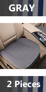 Gray Car Seat Cushion