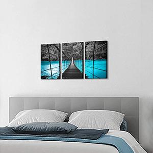 Bridge canvas wall art