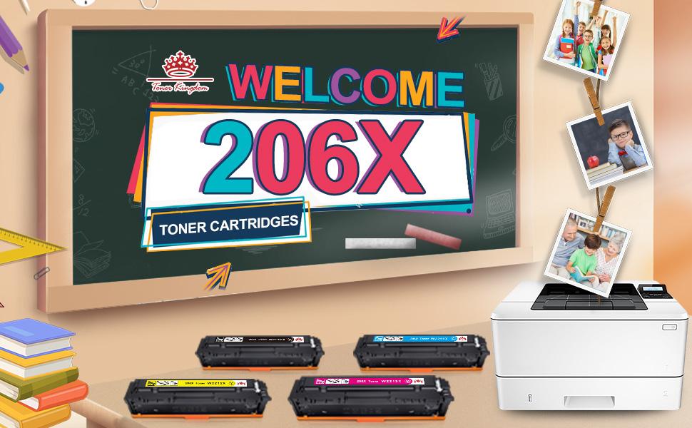 206X toner