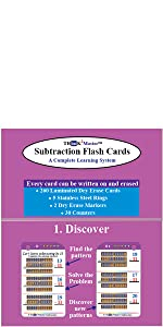 Subtraction Triangle Flash Cards