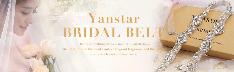 yanstar bridal belt
