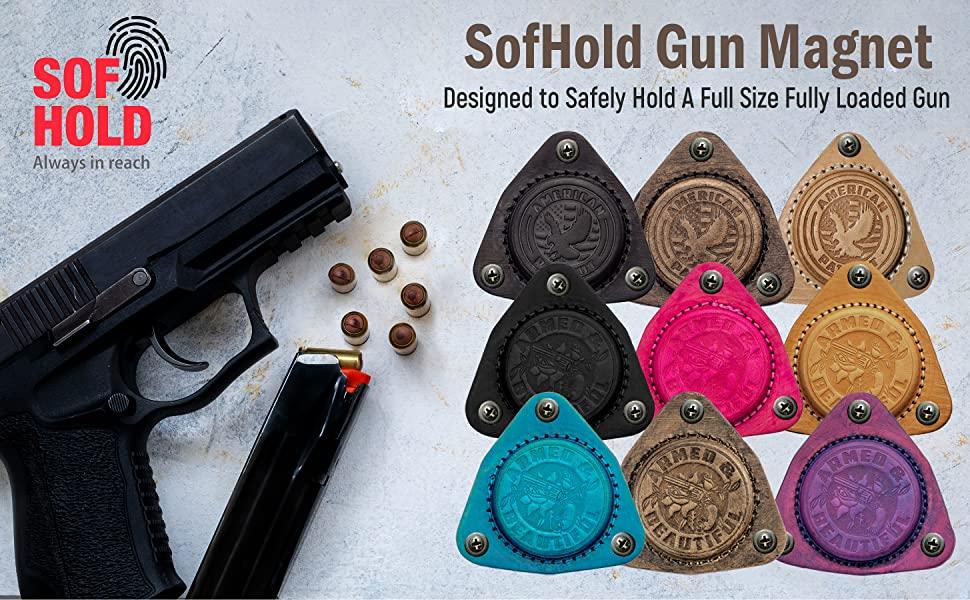 Sofhold Gun Magnet Colors