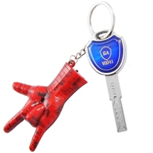 Spiderman Keychian for men