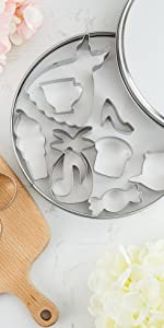 cookie cutters dress candy cup