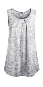 summer sleeveless tunic tops for women